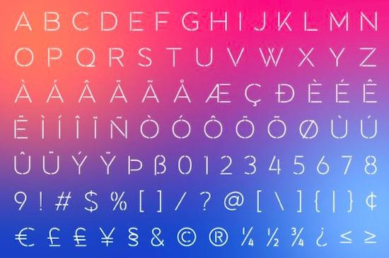 Towards font download