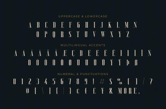 Vicenza font free