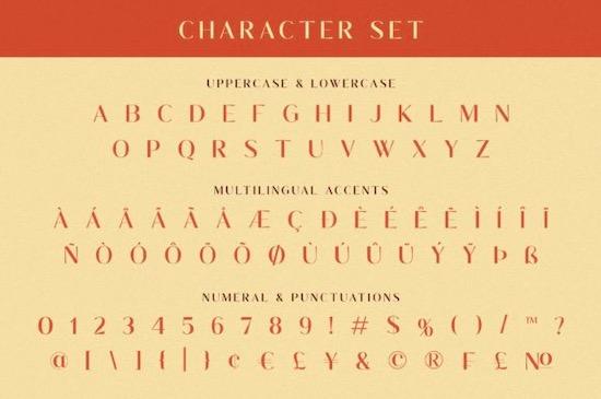 Waluxe font