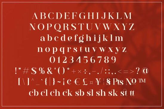 Westack font