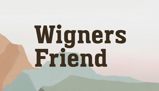 Wigners Friend font download