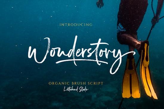Wonderstory font free download