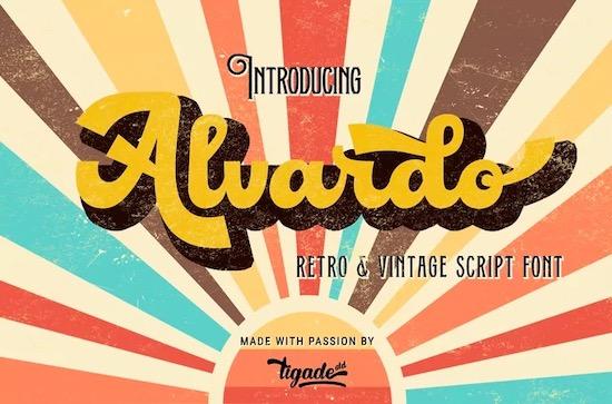Alvardo font free download