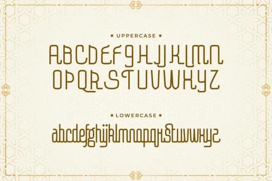 Amal Baik font download