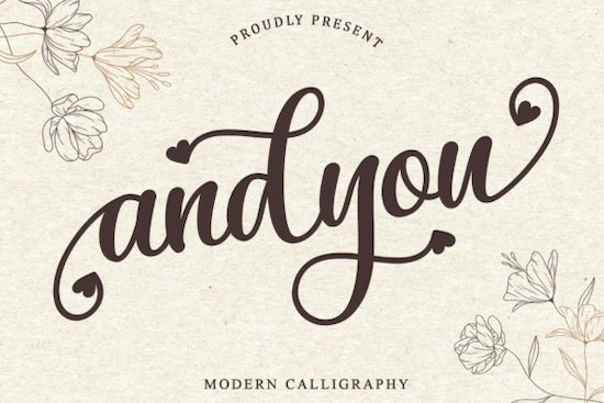 Andyou font free download
