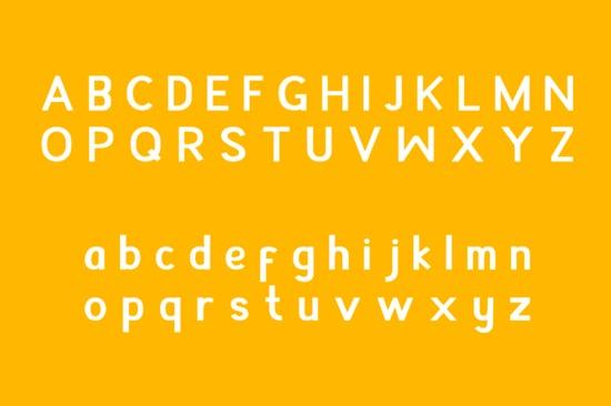 Appendix font free