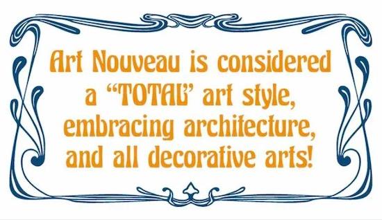 Art Nouveau font free
