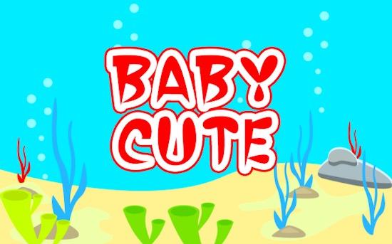 Baby Shark Display font free