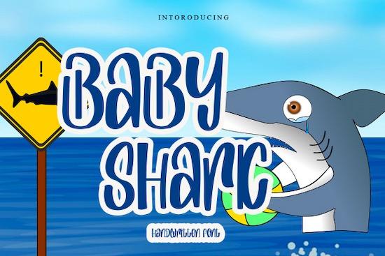 Baby Shark Script font download
