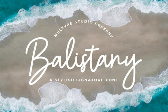 Balistany font free download