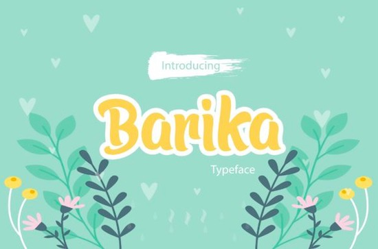 Barika font free download