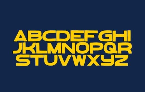 Bebal font