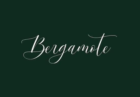 Bergamote font free