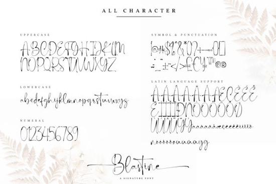 Blastine font download