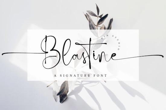 Blastine font free download