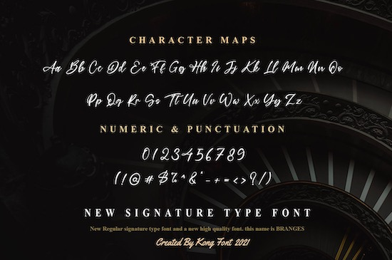 Branches font download