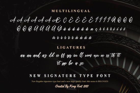 Branches font free download