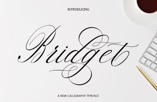Bridget font download
