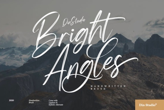 Bright Angels font free download