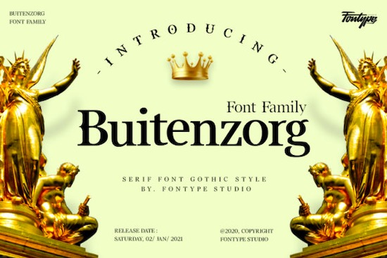 Buitenzorg font free download