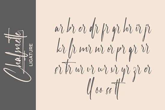Chalmette font download