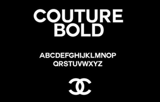Chanel font