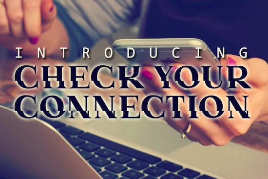 Check Your Connection Font download