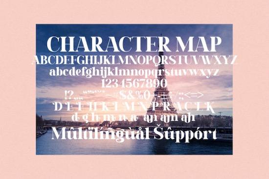 Daretro Mandra font free