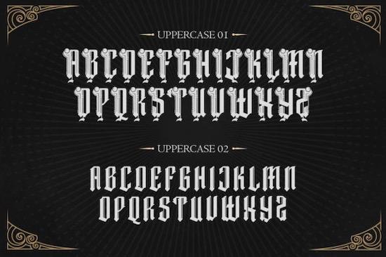 Dark Magic font download