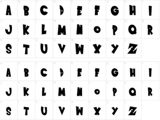 Dragon Ball Z font free