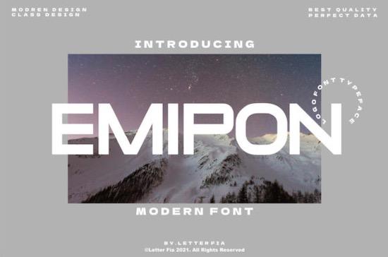 Emipon font free download