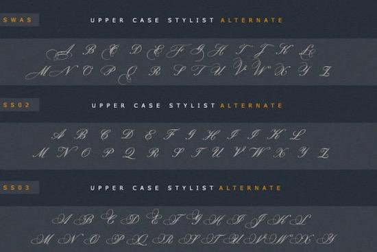 Empario Armani font free