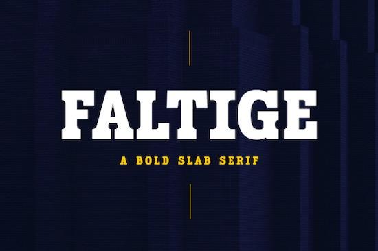 Faltige Font download