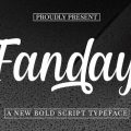 Fanday font free download