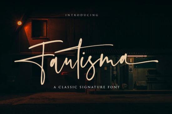 Fautisma font free download