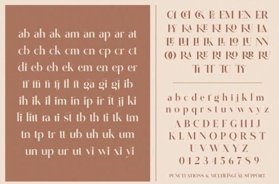 Glitten font download