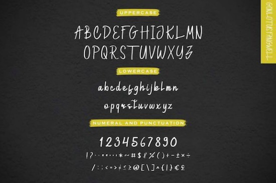 Gonlotus Fangwell font Duo download