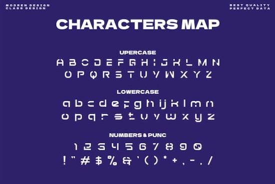 Gorech font free