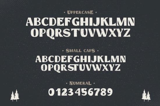Hastag Vintage font download