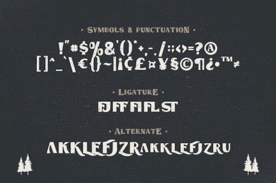 Hastag Vintage font free