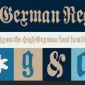 High German font