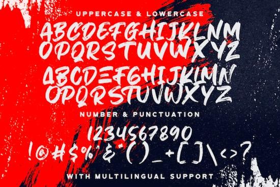 Hiruzen Exists font free