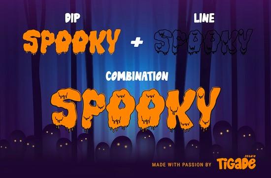 Horror Night font free