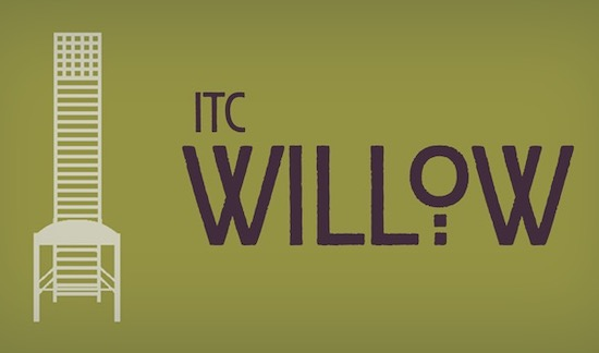 ITC Willow font free