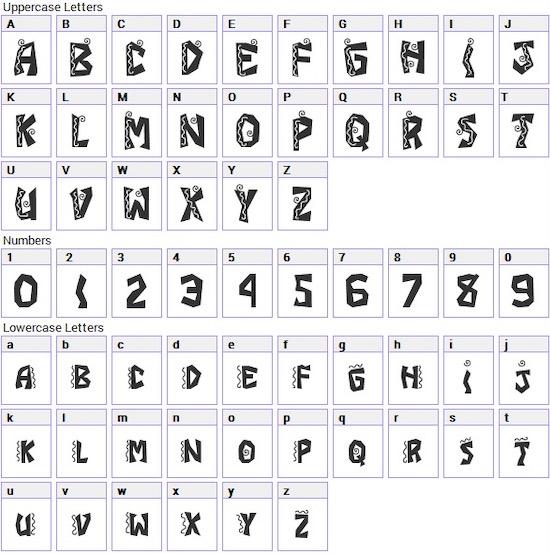 JI Chimichanga font free