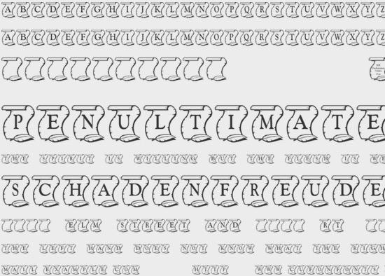 KR Declaration font