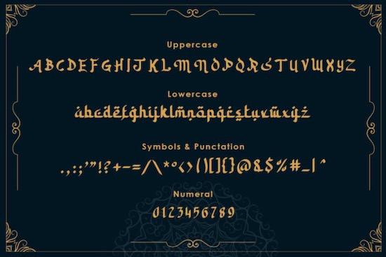 Kahlil font free
