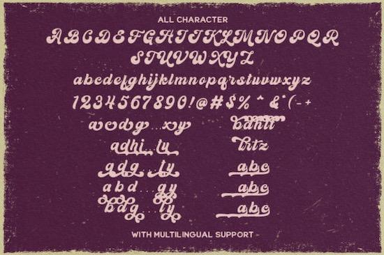 Kandani font download
