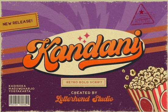 Kandani font free download