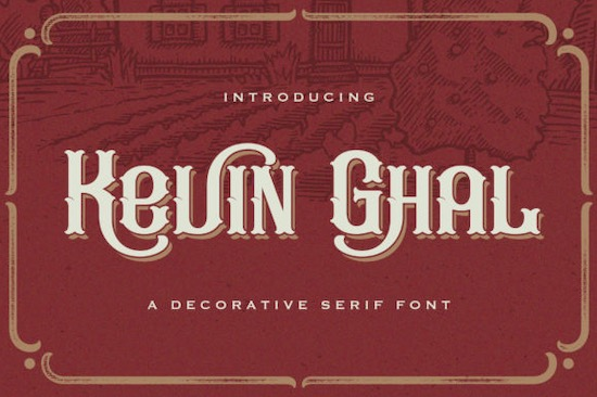 Kevin Ghal font free download